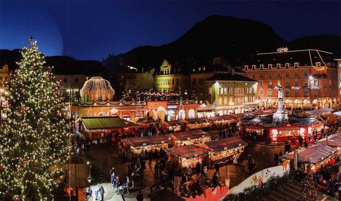 Mercatino di Bolzano - Piazza Walther