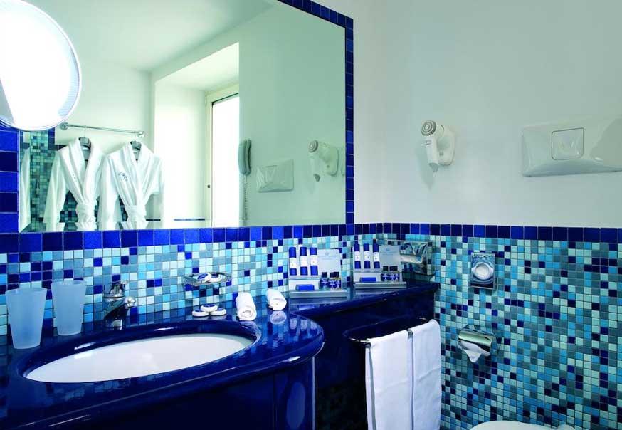 Uno dei bagni della Junior Suite