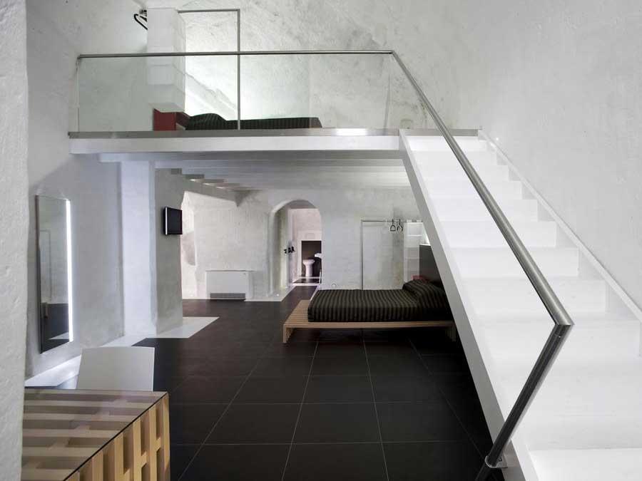 Una delle particolari camere