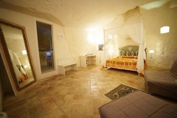 Una delle stanze del Belvedere