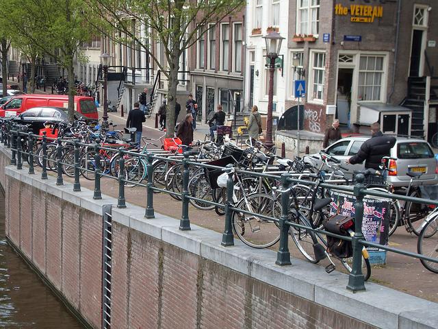 Ci sono circa 700.000 bici e vengono usate tutti i giorni per muoversi
