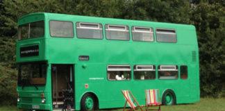 Big green bus
