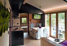 Uno dei bungalow del Caravan Park Sexten