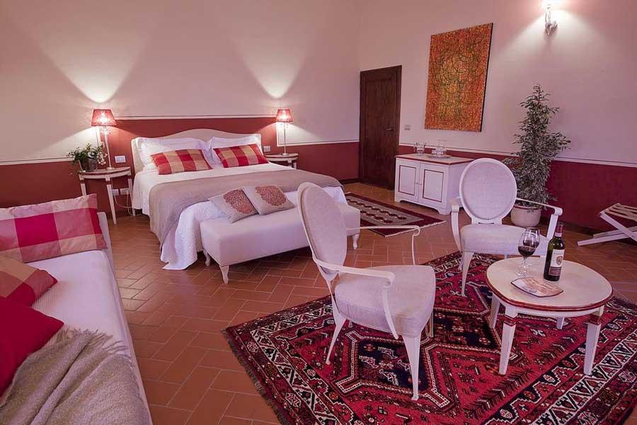 Una delle camere - Castello Di Gabbiano