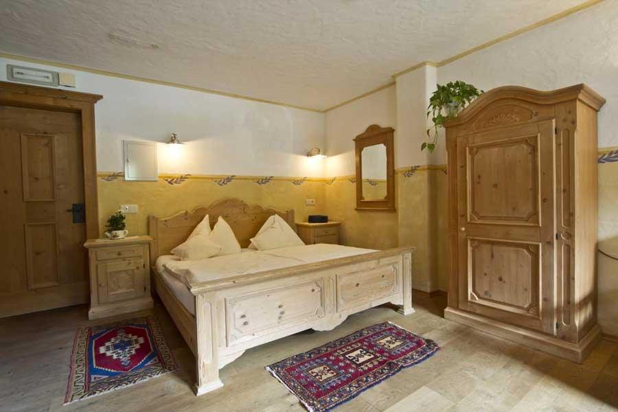 Una delle camere del Mountain Resort Patzenfeld