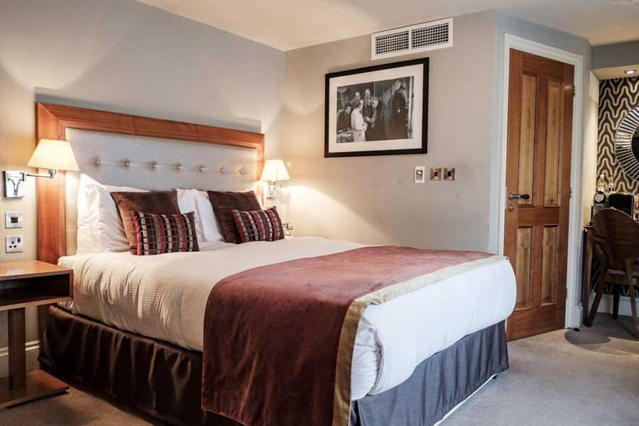 Una delle camere del The Drayton Court Hotel