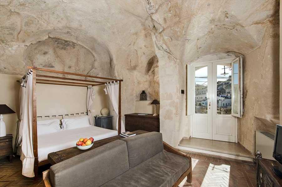 Camera vista Sassi di Matera