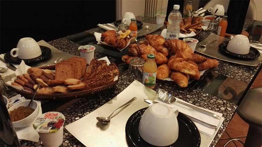 L'abbondante colazione