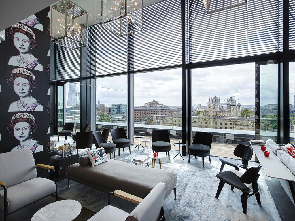 La vista dal CitizenM Tower of London