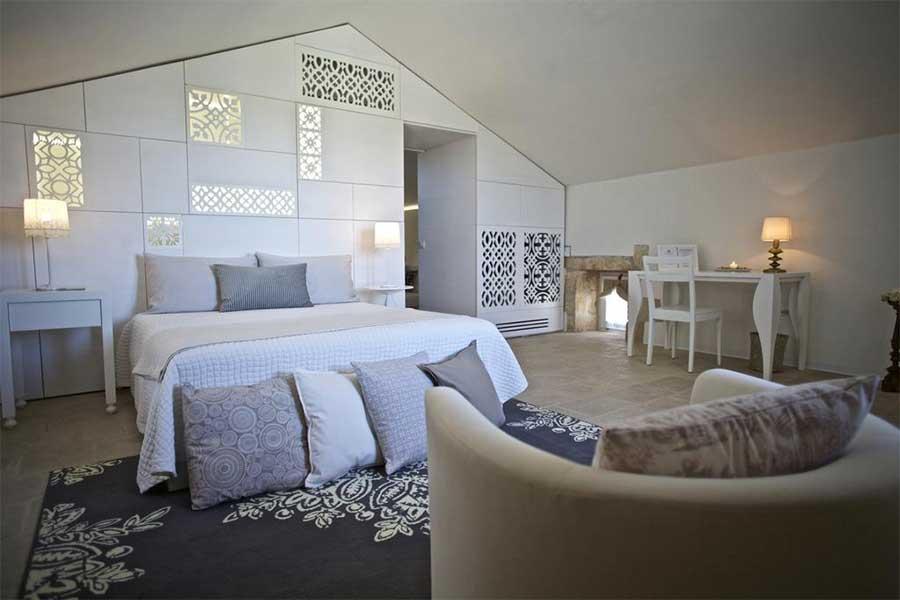 Una delle meravigliose camere