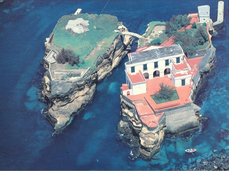 Foto aerea Isola della Gaiola