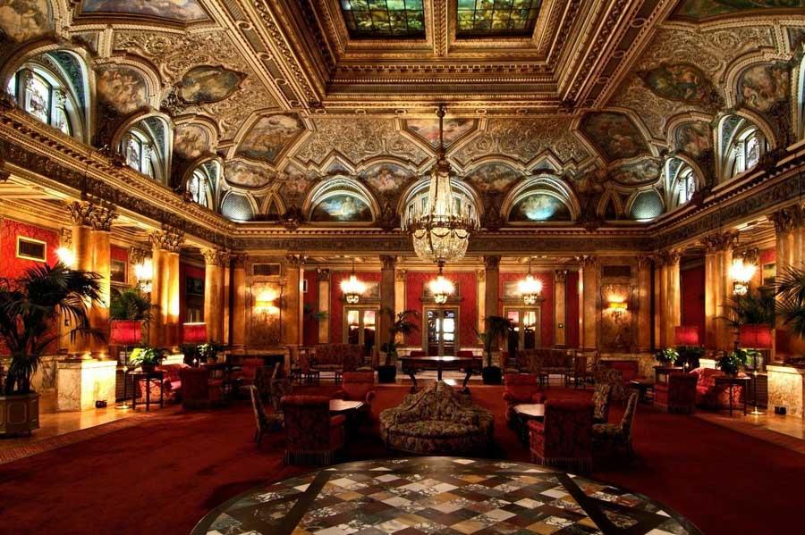 La meravigliosa terrazza del Grand Hotel Plaza
