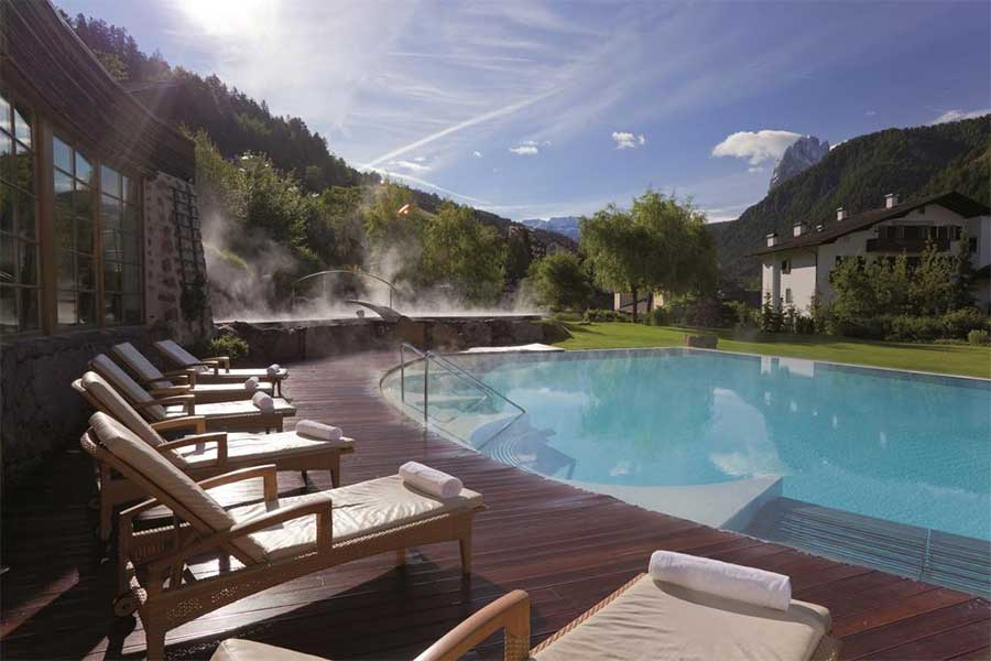 Hotel Adler Dolomiti La piscina