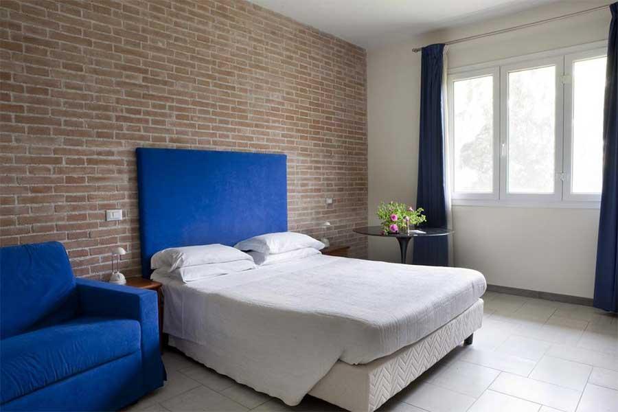 Una delle stanze Hotel Adriatico