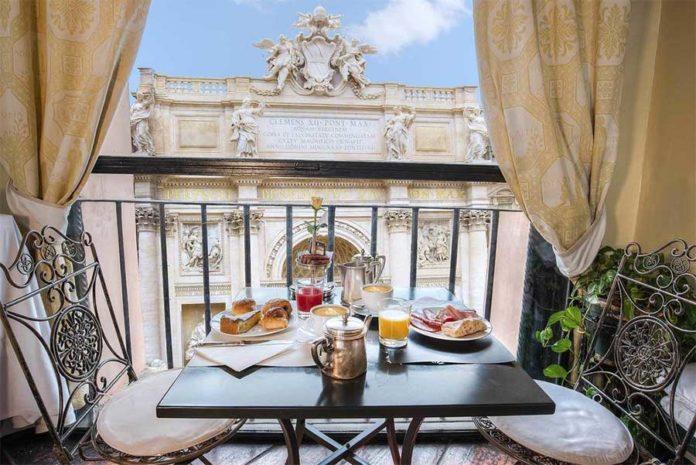 Hotel a roma - La colazione all'Hotel Fontana