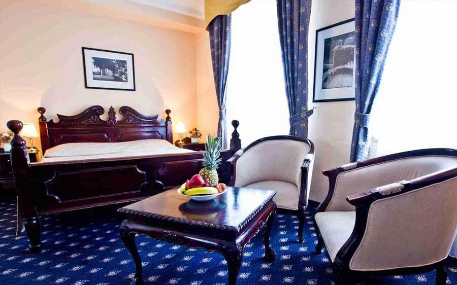 Una delle camere - Hotel Kampa