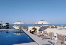 Hotel Rimini sul mare - Vista da l'Erbavoglio Hotel