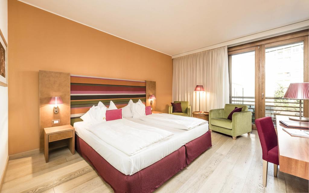 Una delle camere - Hotel Therme Meran