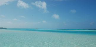 Il mare delle Isole Cook