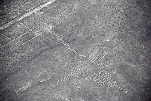 Linee di Nazca Colibrì