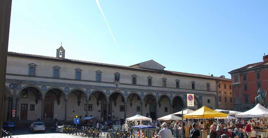 Lo Spedale Innocenti Firenze