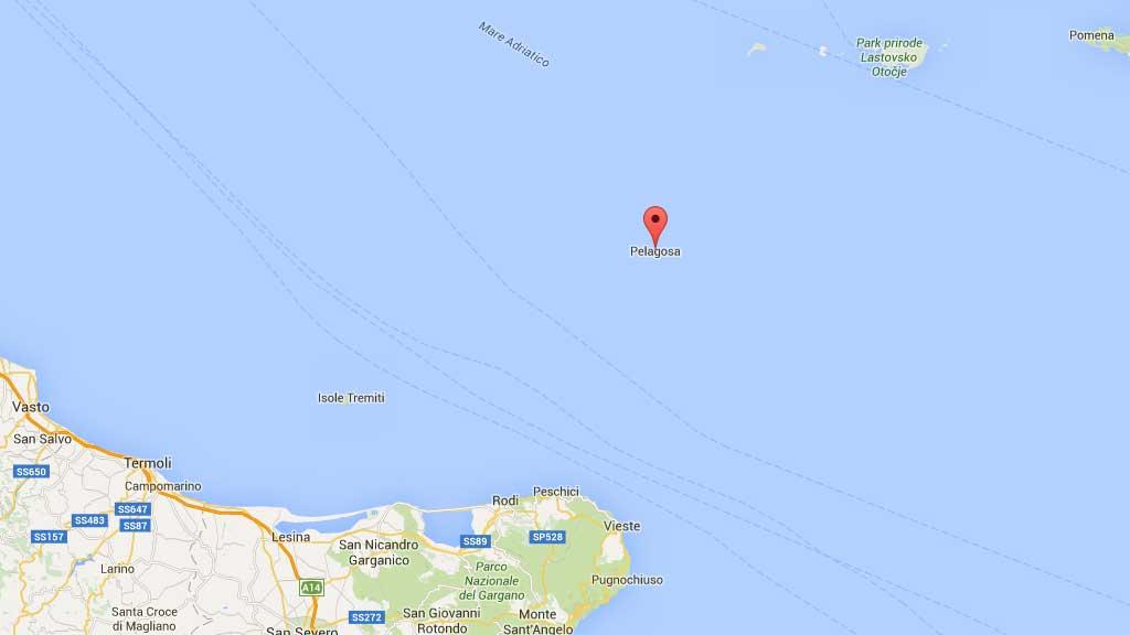 Mappa Isole di Pelegosa