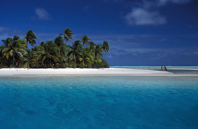 Il surreale mare di Aitutaki
