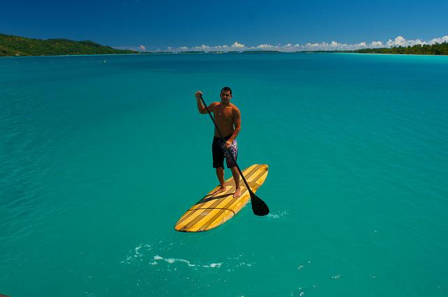 Il mare di Bora Bora