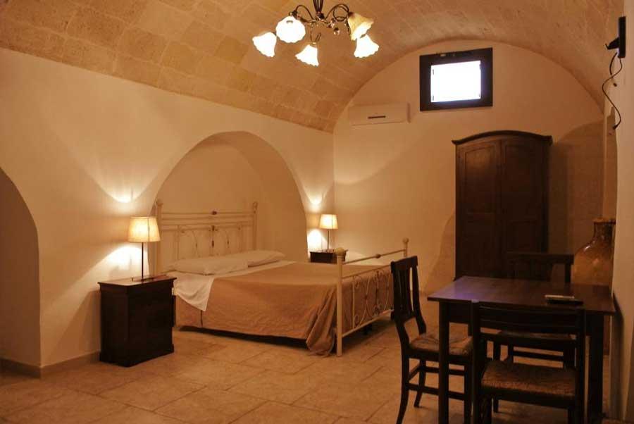 Masseria Nuova: una delle camere