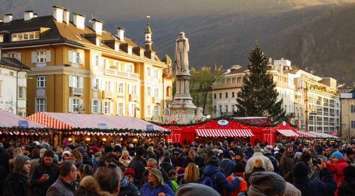 Mercatini di Bolzano - Piazza Walther