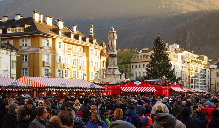 Mercatino di Natale - Bolzano Piazza Walther