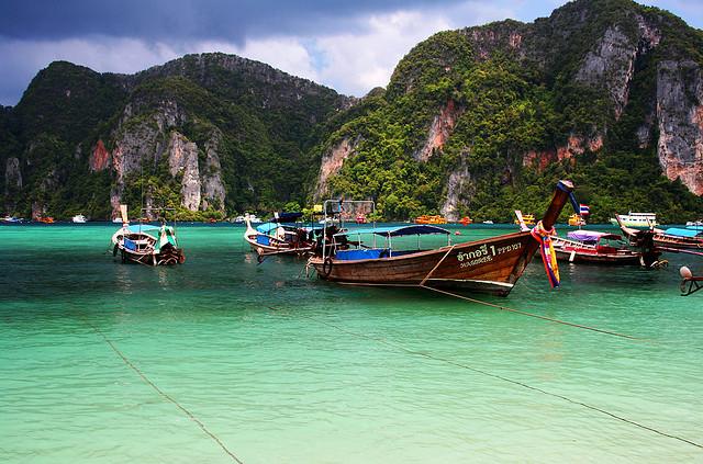 Il colore del mare delle Phi Phi Island