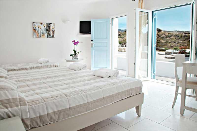 Una delle meravigliose camere del Paradise View Hotel