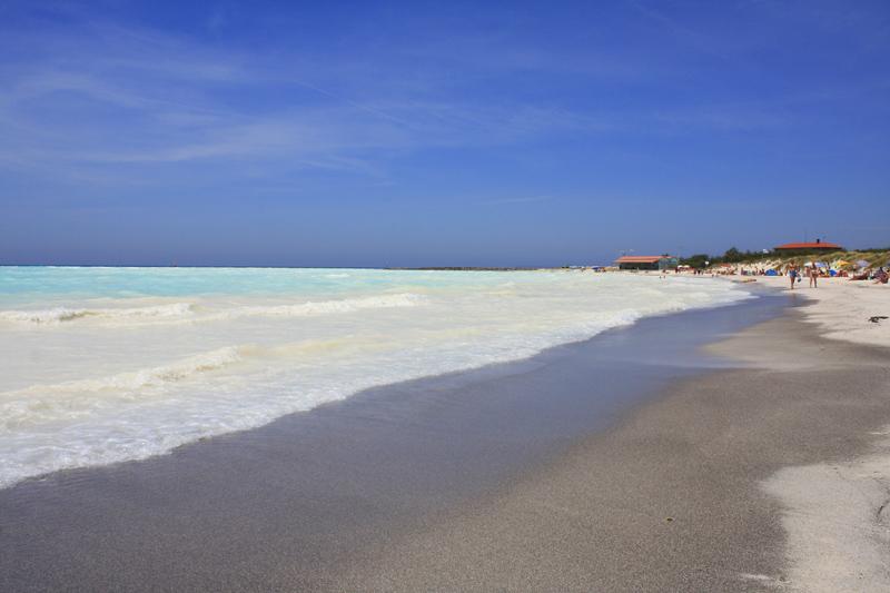 La spiaggia bianca di Rosignano Solvay