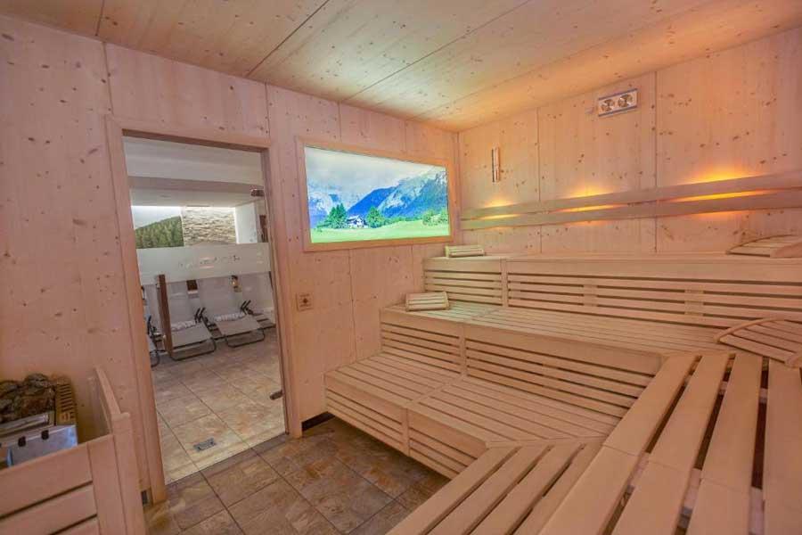 La sauna del Centro Benessere