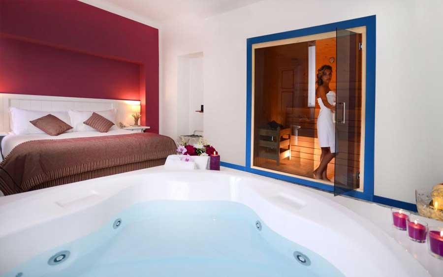La suite con sauna privata