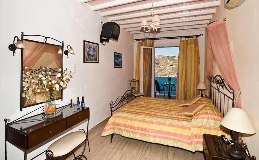 Una delle camere del Vana Holidays