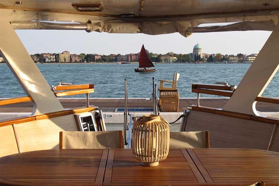 Vista dallo yacht