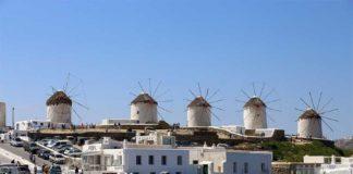 I famosi mulini di Mykonos